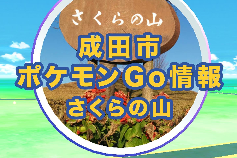 ポケモンGO_成田市_さくらの山