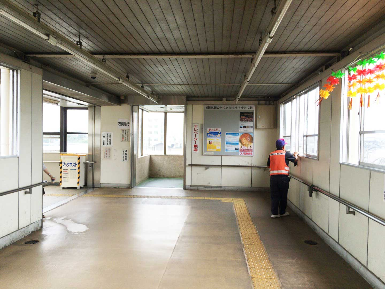 JR成田駅西口掲示板