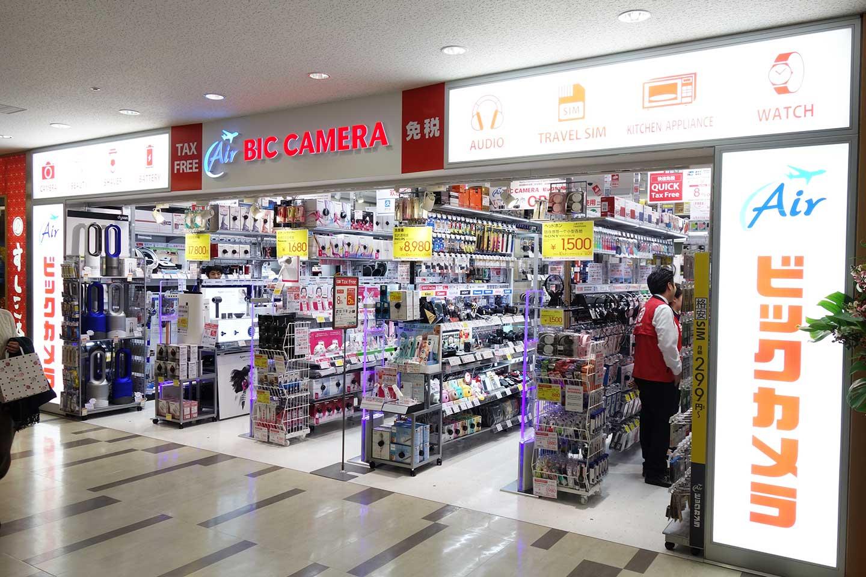 成田空港_ビックカメラ