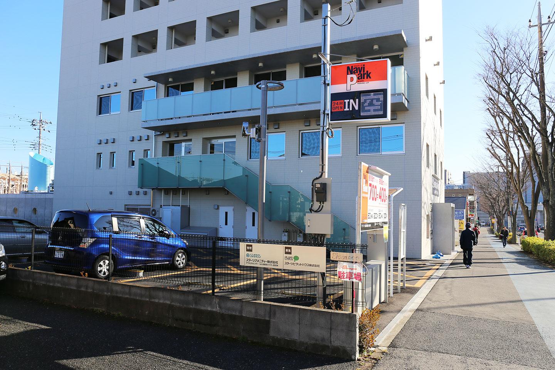 成田駅西口 駐車場