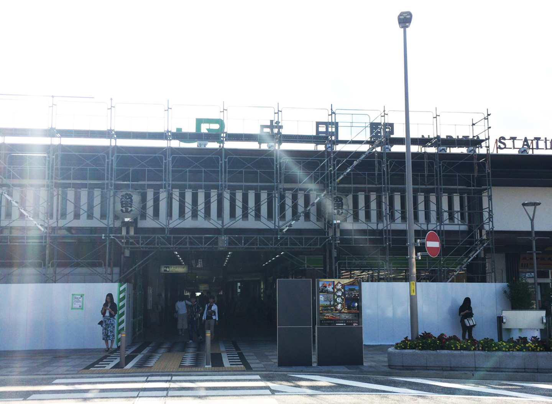 成田駅 工事