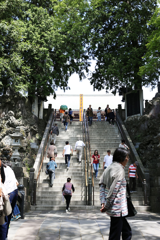 成田山階段