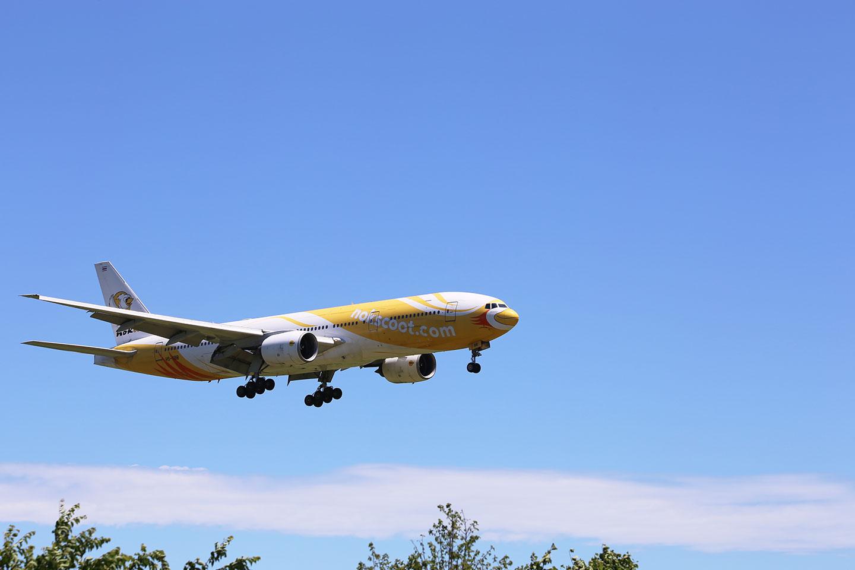 nokscoot 飛行機