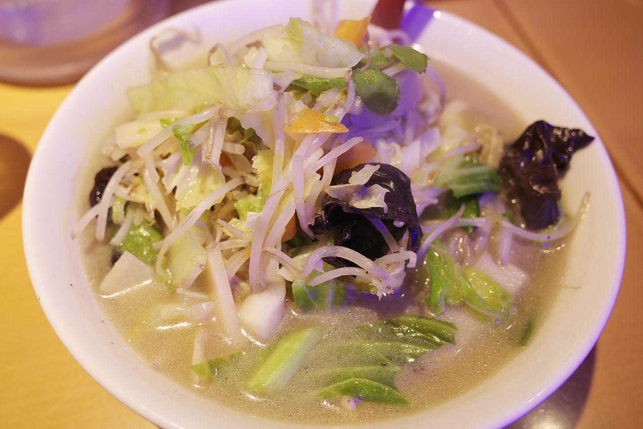 野菜タンメン